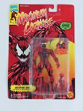 Maximum Carnage figure Weapon Arm MARVEL COMICS 1994 Toy Biz NEW Spider-man toy