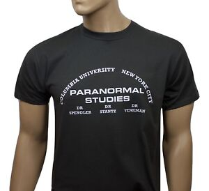 Ghostbusters 80s inspired mens film t-shirt - Paranormal Studies