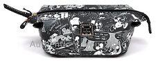 Disney Dooney & Bourke Mickey Minnie Negative Comic Strip Cosmetic Pouch Bag #12