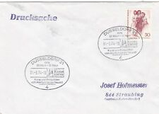 Berlino Ovest 1974 Dusseldorf ARTE e Antiquariato Fiera Cover in buonissima condizione