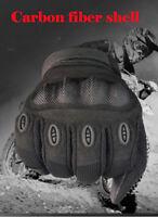 Motorbike MotorcycleCarbon Fiber Gloves Waterproof Protection Winter Summer NEW
