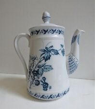 KAFFEEKANNE Villeroy & Boch Mettlach RUBUS coffee tea pot Jugendstil Art Nouveau