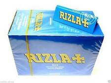 Rizla Blue Tobacco Cigarette Rolling Thin Papers FULL BOX Of 100 BOOKLETS