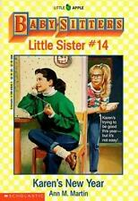 The Baby-Sitters Club Little Sister: Karen's New Year No. 14 by Ann M. Martin (1