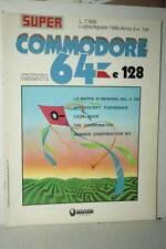 RIVISTA SUPER COMMODORE 64 E 128 ANNO 3 NUMERO 7/8 LUG /AGO 1986 USATA FR1 54765