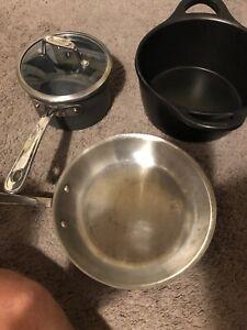 All Clad Pots (3)