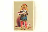 Vintage Trade Card Young Prince With Candy