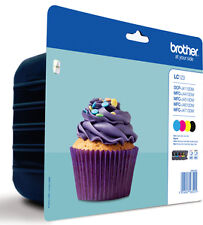 Brother LC-123VALBPDR Black, Cyan, Magenta, Yellow Ink Cartridge