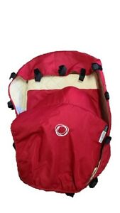 Bugaboo Frog Stroller Pram Bassinet Apron Red Canvas Baby Carry Cot Cover Sun