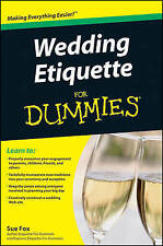 Wedding Etiquette For Dummies-ExLibrary