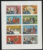 EQUATORIAL GUINEA 1979 ROWLAND HILL CENTENARY LONDON 80 IMPER SOUVENIR SHEET MNH