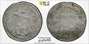 1796 30 KREUZER SWITZERLAND ABBEY OF ST GALL (GALLEN)  PCGS VF30 #41481688