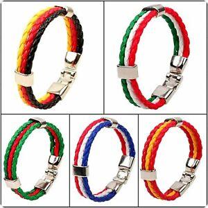 Länder Fahne Armband Schmuck Deutschland Italien Portugal Frankreich Spanien