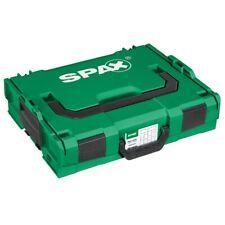 Spax L-BOXX Koffer Kunststoff groß, leer mit Einsätzen - 5000009166019