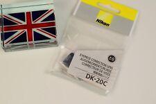 GENUINE NIKON DK-20C EYEPIECE CORRECTION LENS +0.0  D40X D60 D80 D90 D100 D200