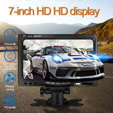 "7"" Car LCD Color HD Display Monitor Reverse Rear View Backup Camera DVD Player"