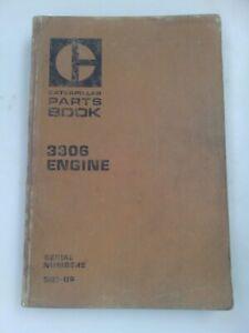 Caterpillar 3306 engine parts manual. Genuine Cat book.