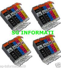 KIT SET 20 CARTUCCE COMPATIBILI CON CANON PG550 CL551 PG-550 CL-551 PG 550 551