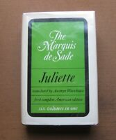 JULIETTE 6 volumes in 1 by The Maquis de Sade - 1st HCDJ Grove 1968 - erotica