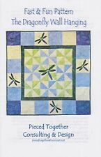 The Dragonfly Wall Hanging, Dragonflies, DIY Quilt Pattern