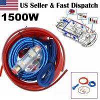 USA 8 Gauge Car Audio Cable Wiring Kit AMP Amplifier Install RCA Subwoofer Sub