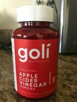 Goli Nutrition Apple Cider Vinegar 60 Count Gummies 1-3 Day Delivery Time