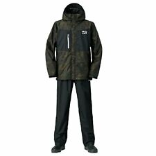 DAIWA Rain Max Suits DR-36008 CAMO Fishing Jacket Pants SET Japan F/S NEW