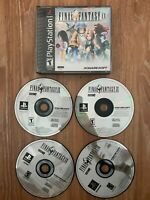 Final Fantasy IX 9 (Sony PlayStation 1, 2000) PS1 Complete Black Label No Manual