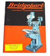 Bridgeport Br68 Turret Miller Brochure