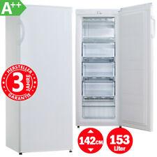 Gefrierschrank Tiefkühlschrank A++ 142 cm Eisschrank Gefriertruhe Froster Weiß