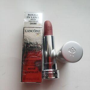 LANCÔME Rouge in Love Beige Dentelle - 300M NIB