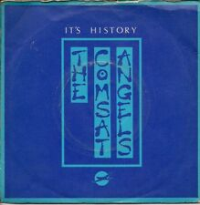 """The Comsat Angels It's History UK 45 7"""" single +Picture Sleeve +Zinger"""