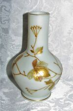 Antique Enameled  Art Glass Bud Vase Circa 1880