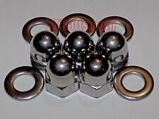 (5) Metric 8mm Acorn Cap Nuts Safety Show Dome Hex Stainless Steel M8 Thread
