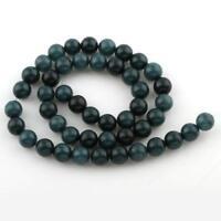 Edelsteine Perlen Natur 6mm Indische Saphir Rund Schmucksteine 1 Strang G5
