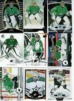 LOT OF 43 VARIOUS DALLAS STARS HOCKEY CARDS BENN SEGUIN BISHOP HEISLANEN