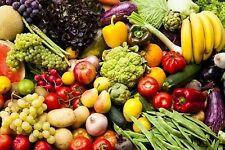 KITCHEN FRIDGE MAGNET - FRUIT & VEGETABLES