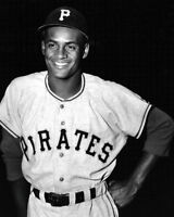 Roberto Clemente Photo 8X10 - 1955 Pirates - Buy Any 2 Get 1 Free