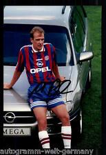 Mario Basler SUPER AK foto il Bayern Monaco 1996-97 (9) ORIG. firmato