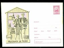 1963 Regional Costume,Monastery,MOLDOVA DE NORD,Pottery,Romania,stationery cover