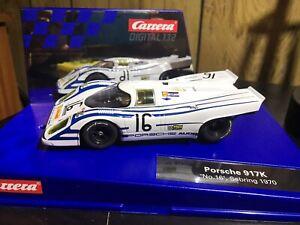 Carrera Digital 132 30760 Porsche 917 K Sebring No. 16 w/ Upgrades
