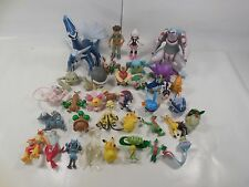 LOT OF 34 DIFFERENT POKEMON FIGURES & TRAINERS JAKKS SOME RARE SOLD AS IS
