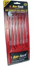 6Pc Stainless Steel Dental Tool Set Dentist Teeth Kit Clean Hygiene Pick Probe