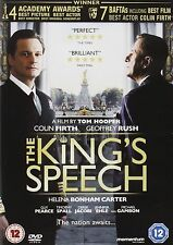 The King's Speech (2011) Colin firth, Geoffrey Rush, NEW AND SEALED UK R2 DVD