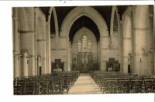 CPA Carte postale  Belgique-Quaregnon Intérieur de l'église de N.D. de Lourdes