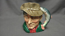 Collectable Royal Doulton Small Character Jug The Poacher D6464