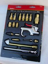 Ampro A1460 18 Piece Air Tool Accessory Kit Milton Type - Compressor Accessories