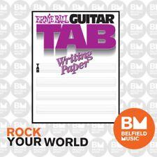 Ernie Ball 7021 Guitar Tab Writing Paper Book