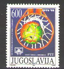Yugoslavia1988 Sc1905 Mi2292 1v mnh European Junior Basketball Championships