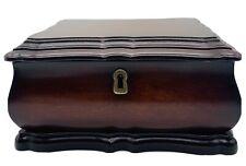 Vintage 2000 Bombay Company Wooden Keepsake box trinket jewelry box